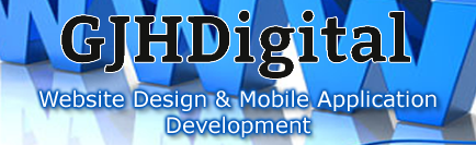 GJHDigital – Website Design and Mobile App Development